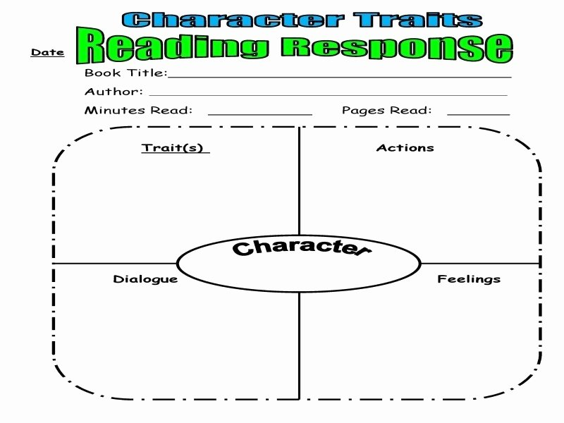 Character Traits Worksheet 3rd Grade Best Of Character Traits Worksheet 3rd Grade Free Printable