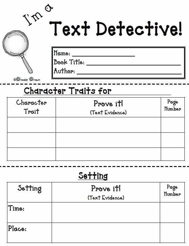 Character Traits Worksheet 3rd Grade Lovely Character Trait Worksheet