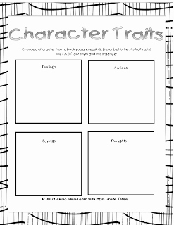 Character Traits Worksheet 3rd Grade Lovely Character Traits F A S T = Feelings Actions Sayings