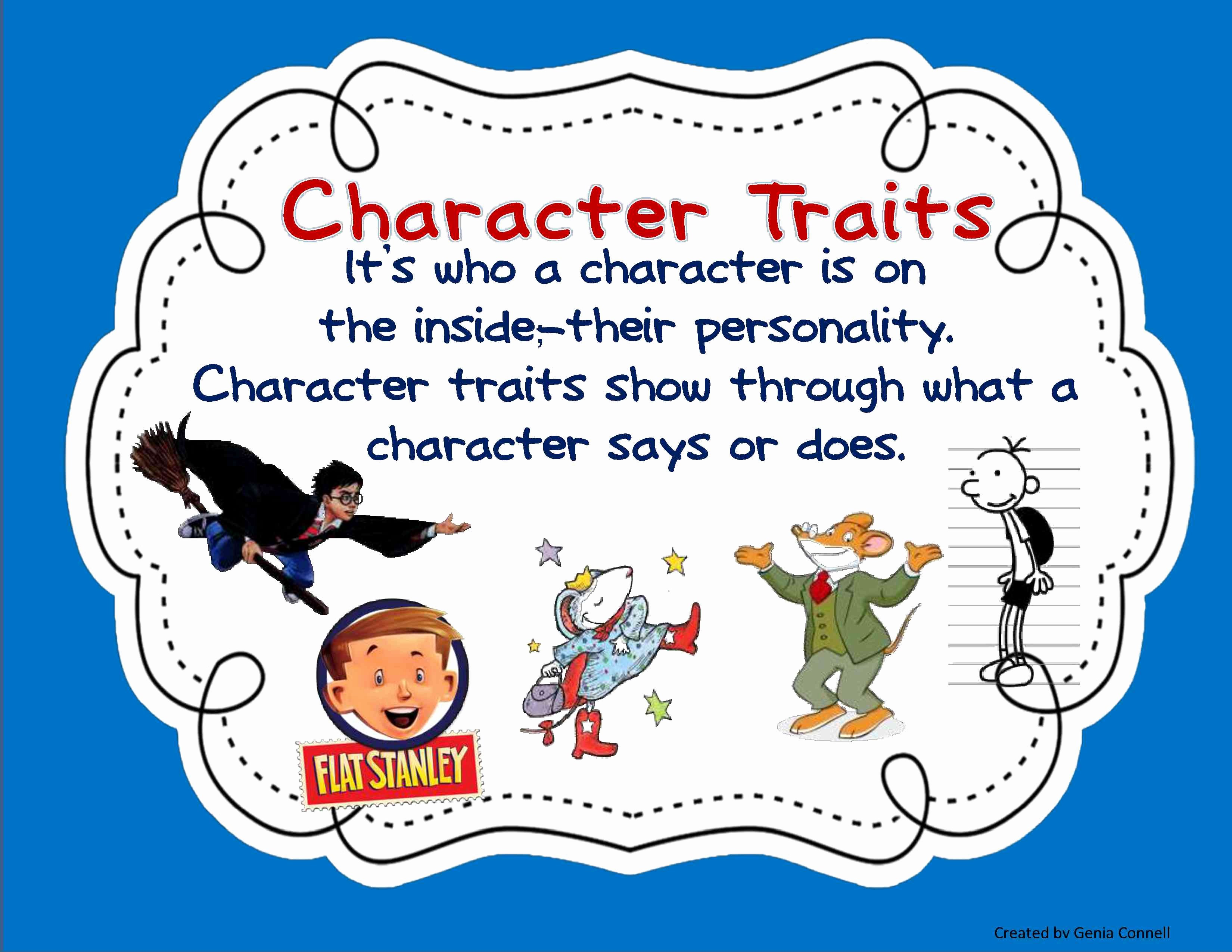 Character Traits Worksheet 3rd Grade New Teaching Character Traits In Reader S Workshop