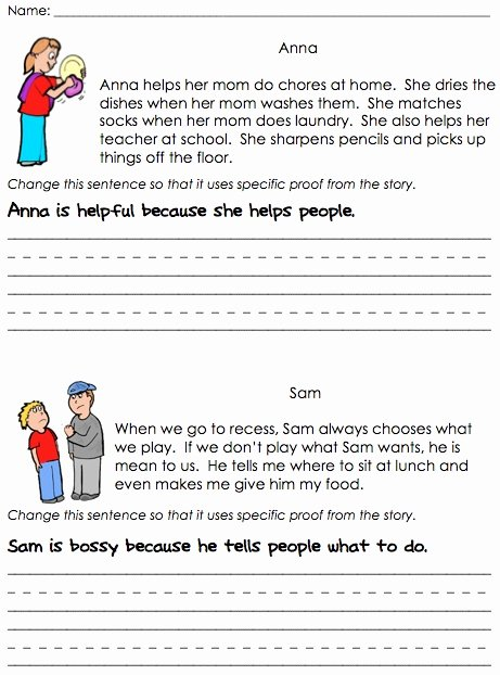 Character Traits Worksheet Pdf Awesome Floating Through First Grade Character Traits
