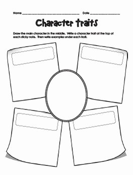Character Traits Worksheet Pdf Best Of Character Worksheets by Teachplanlove