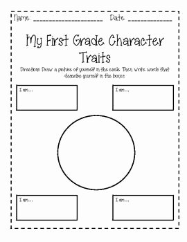Character Traits Worksheet Pdf Fresh End Of Year Bundle for 1st Grade Writings Class Books