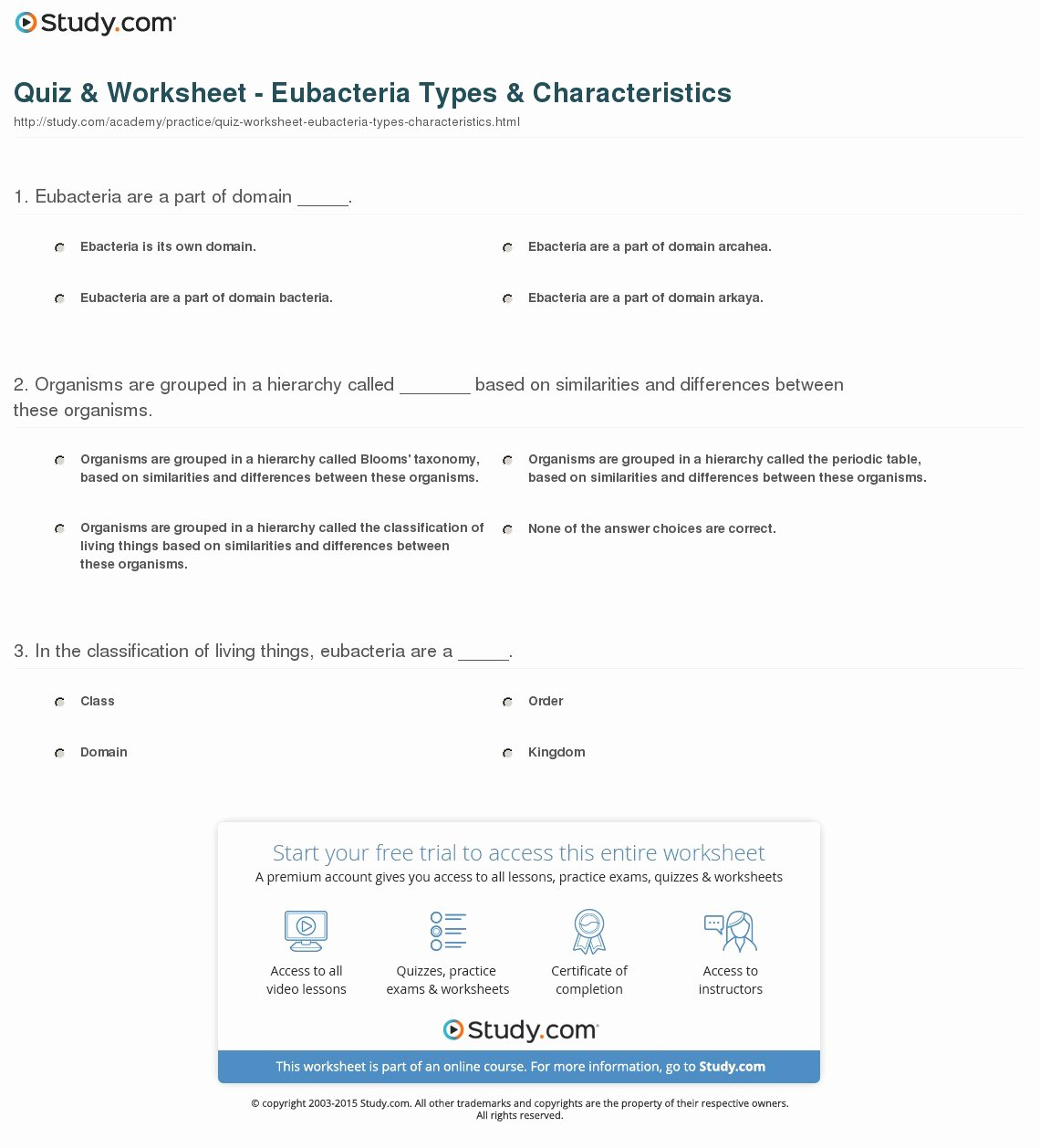 Characteristics Of Bacteria Worksheet Elegant Characteristics Living Things Worksheet Answers Key