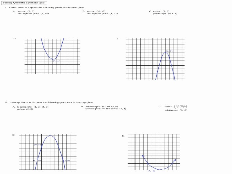 Characteristics Of Functions Worksheet Best Of Characteristics Quadratic Functions Worksheet Free