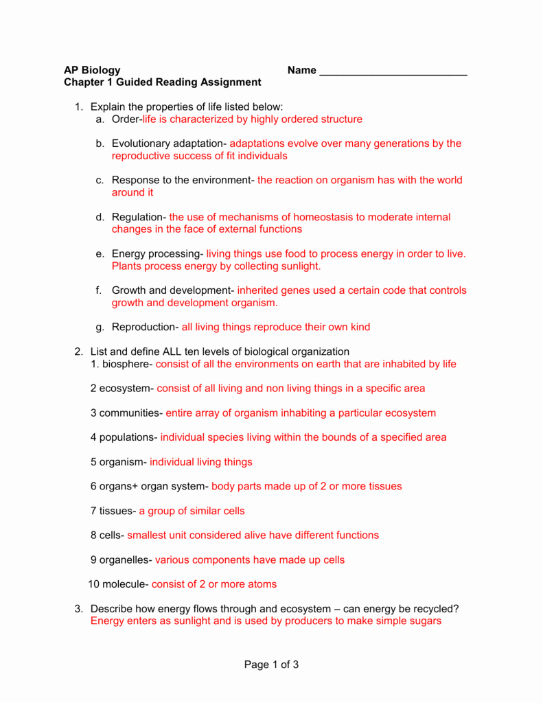 Characteristics Of Life Worksheet Answers Best Of Characteristics Living Things Worksheet Answers Key