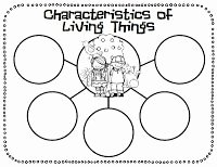 Characteristics Of Living Things Worksheet Best Of 1000 Images About Characteristics Of Living Things