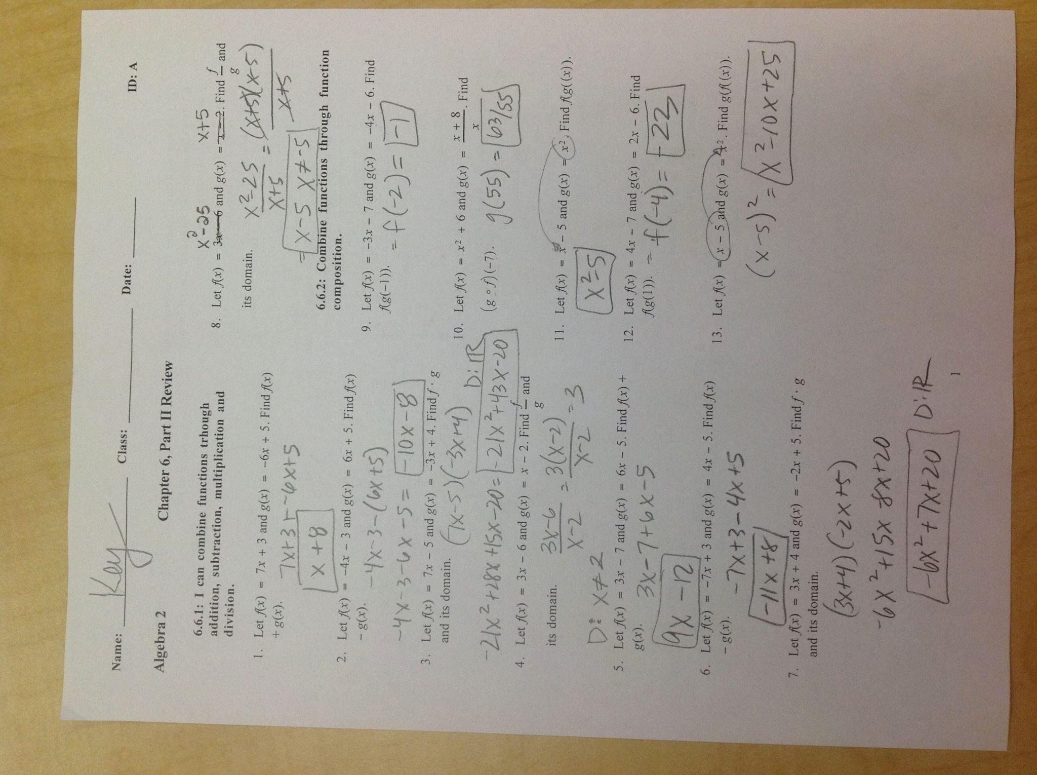 Characteristics Of Quadratic Functions Worksheet Inspirational Characteristics Quadratic Functions New Worksheet