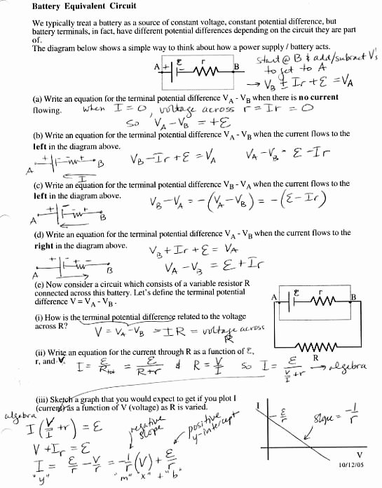 Charge and Electricity Worksheet Answers Beautiful 313 Prob&q solns