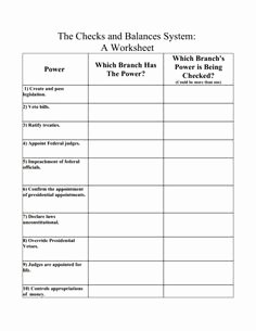 Checks and Balances Worksheet Answers Best Of Osha Training Sign In Sheet Google Search