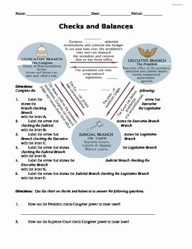 Checks and Balances Worksheet Answers Elegant Danielle Keane Teaching Resources
