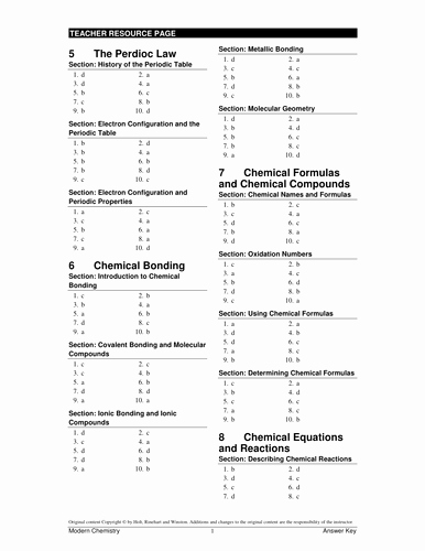 Chemical Bonding Worksheet Key Luxury Chemical Bonding Test Key and Worksheets by Adnanansari