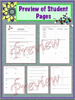 Chemical Bonding Worksheet Key New Chemical Bonding Practice Problem and Review Worksheet by