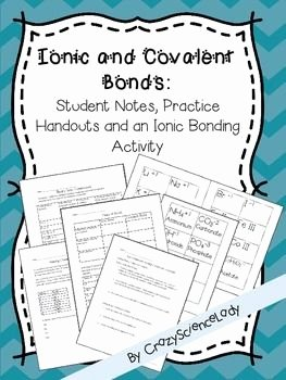 Chemical Bonds Ionic Bonds Worksheet Elegant Chemical Bonds Ionic Bonding and Covalent Bonding