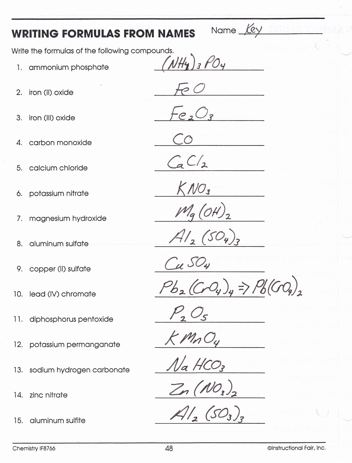 Chemical formula Worksheet Answers Inspirational Worksheet Writing Chemical formulas Worksheet Grass