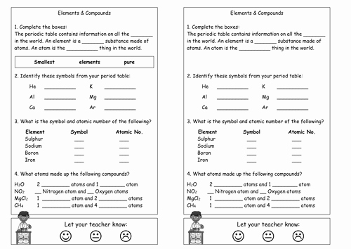 Chemistry Periodic Table Worksheet Lovely Periodic Table Elements formulae by Kmbradley