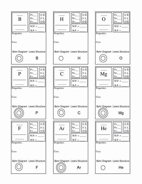 Chemistry Periodic Table Worksheet Luxury Periodic Table Basics Worksheet Answer Key