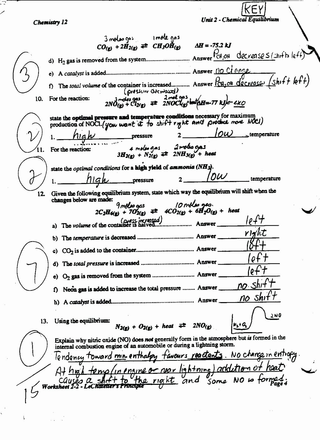 Chemistry Review Worksheet Answers Beautiful Chemistry Heating Curve Worksheet Answer Key 2 Answers Pdf
