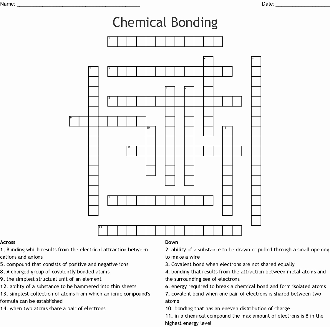 Chemistry Review Worksheet Answers Fresh Chemical Bonding Worksheet Answers Review