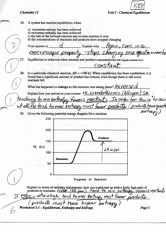 Chemistry Review Worksheet Answers Inspirational Chemistry 12