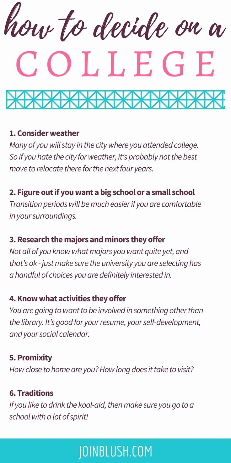 Choosing A College Worksheet Luxury 18 Best College I E Images On Pinterest
