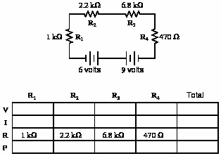 Circuits Worksheet Answer Key Elegant Series Dc Circuits Practice Worksheet with Answers