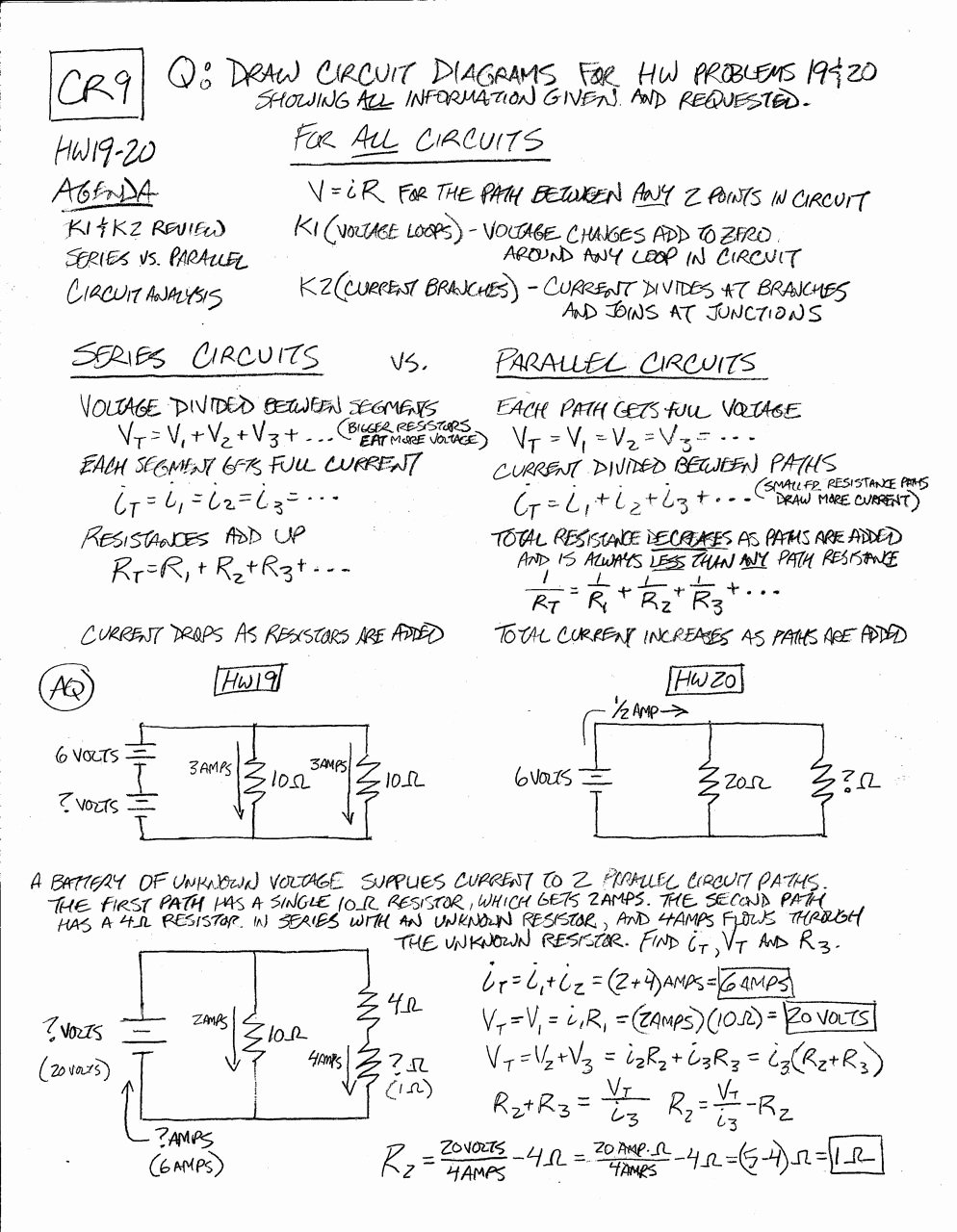 Circuits Worksheet Answer Key Lovely Worksheet Parallel and Series Circuits Worksheet