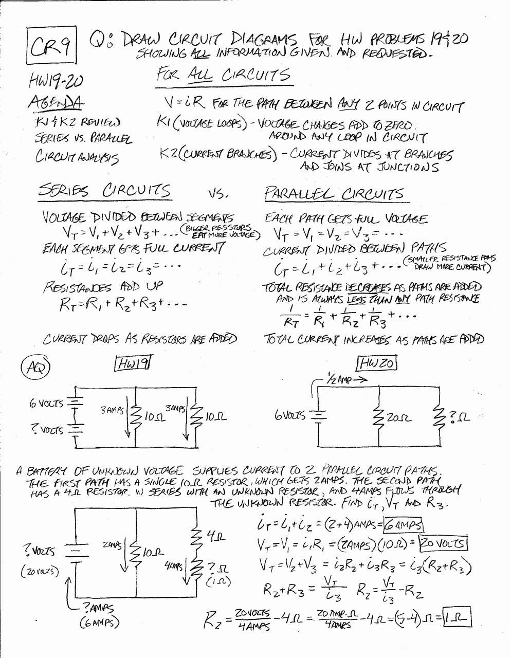 Circuits Worksheet Answer Key Lovely Worksheet Parallel and Series Circuits Worksheet