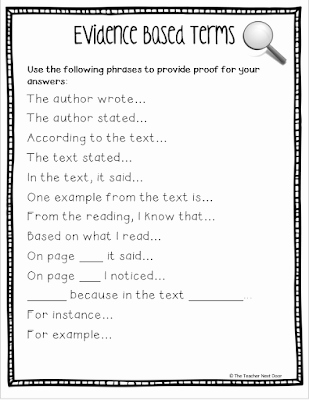 Cite Textual Evidence Worksheet Awesome Upper Elementary Snapshots Citing Text Evidence In 6 Steps