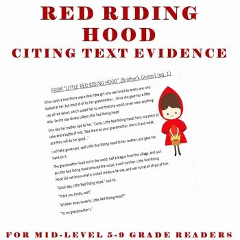 Citing Textual Evidence Worksheet Beautiful Cite Text Evidence Plete Lesson High Interest Red