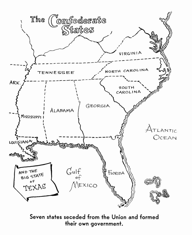 Civil War Battles Map Worksheet Luxury 28 Best Images About Coloring Pages On Pinterest