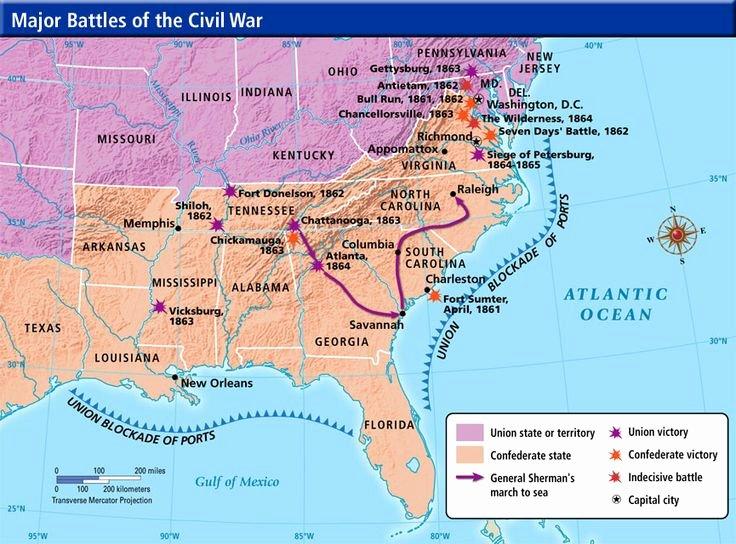 Civil War Battles Map Worksheet Luxury Civil War Battles Timeline