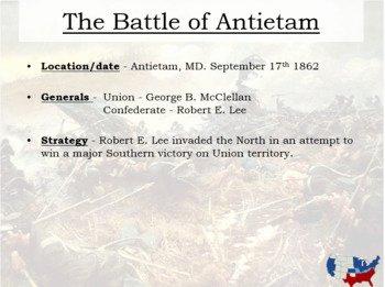 Civil War Battles Map Worksheet Unique Civil War Interactive Battle Map and Worksheet W Key by
