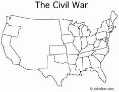 Civil War Map Worksheet Inspirational Blank Maps Of Usa
