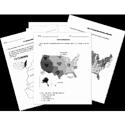 Civil War Map Worksheet New Free Us History Worksheets for All Grade Levels