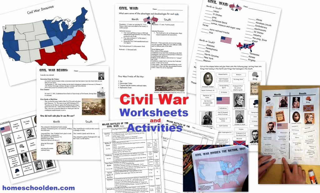 Civil War Timeline Worksheet Best Of History Units Homeschool Den