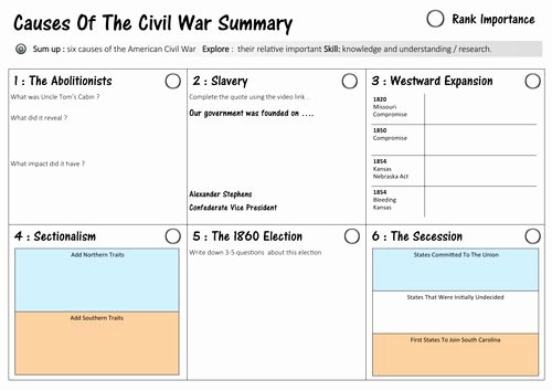 Civil War Timeline Worksheet Inspirational 1000 Images About Teaching ] On Pinterest