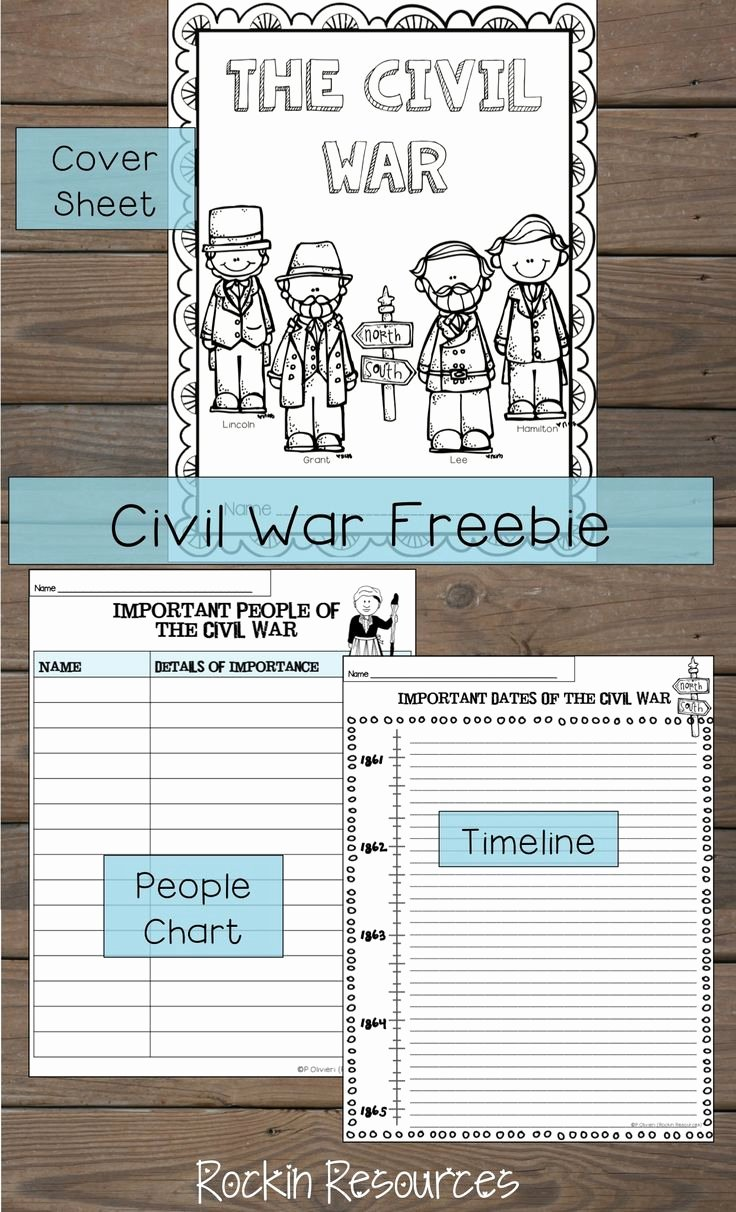 Civil War Timeline Worksheet Luxury 17 Best Images About 3rd Ss On Pinterest