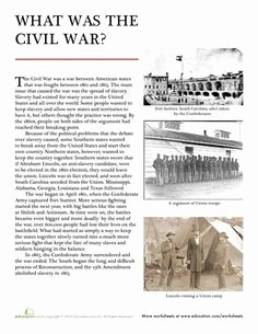 Civil War Worksheet Pdf Beautiful 1000 Images About Unit Civil War On Pinterest