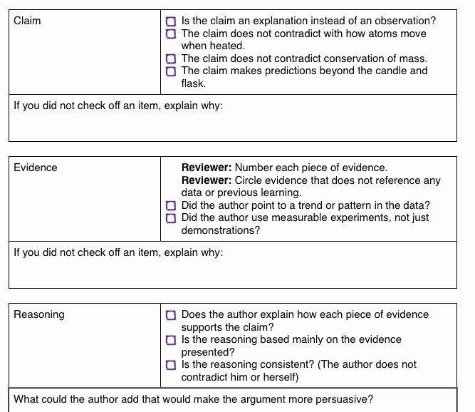 Claim Evidence Reasoning Science Worksheet Beautiful Best 25 Claim Evidence Reasoning Ideas On Pinterest