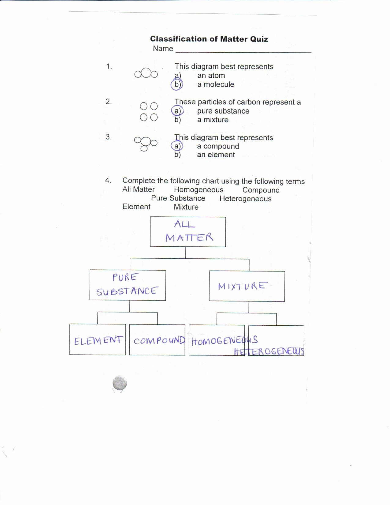 Classification Of Matter Worksheet Elegant Worksheet Classification Matter Worksheet Grass Fedjp