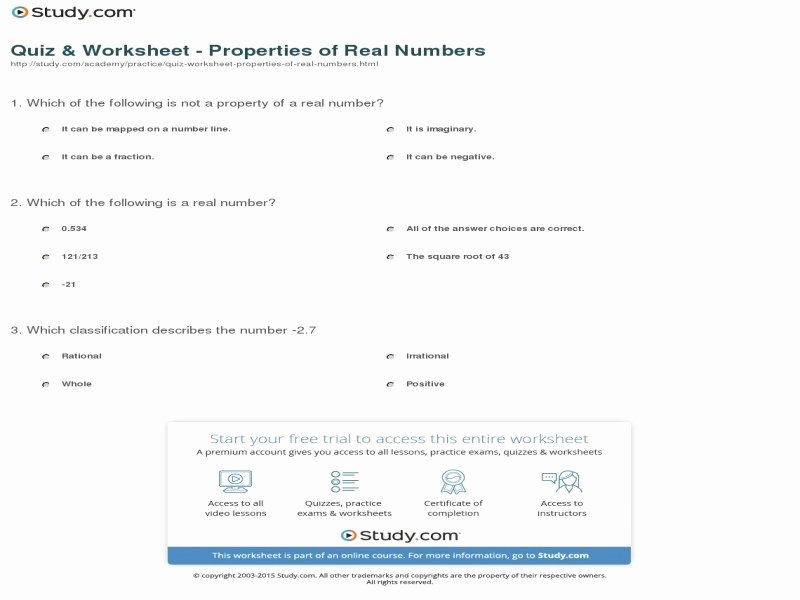 Classify Real Numbers Worksheet Awesome Classifying Real Numbers Worksheet Free Printable Worksheets