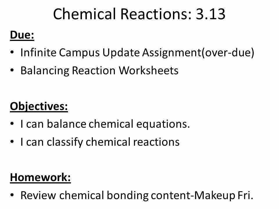 Classifying Chemical Reactions Worksheet Answers Awesome Classifying Chemical Reactions Worksheet Answers