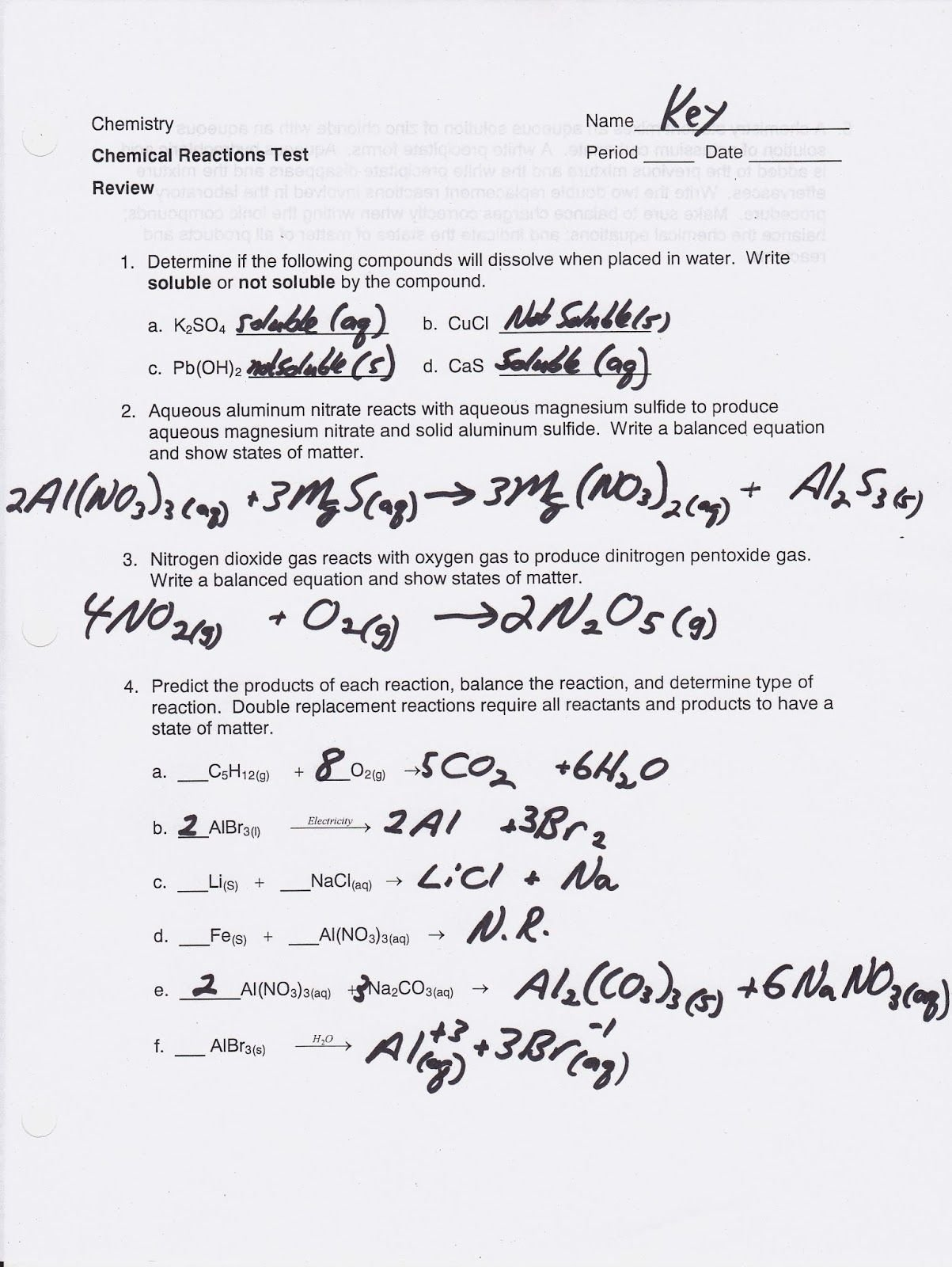 Classifying Matter Worksheet Answer Key Fresh Chemistry 1 Worksheet Classification Matter and Changes