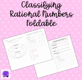 Classifying Rational Numbers Worksheet Elegant Classifying Rational Numbers by Chill S Middle School Math