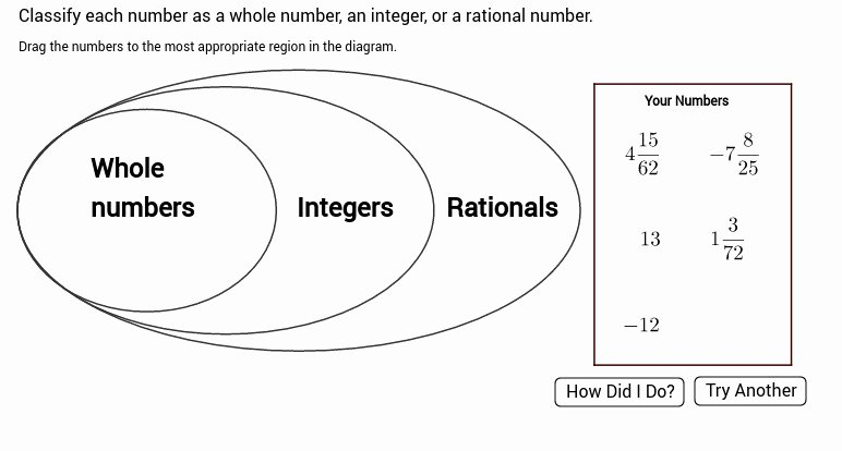 Classifying Rational Numbers Worksheet New Classifying Numbers Worksheet
