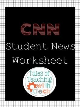 Cnn Student News Worksheet Best Of Best 25 Current events Worksheet Ideas On Pinterest
