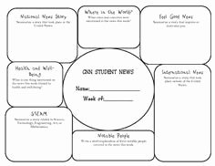 Cnn Student News Worksheet Best Of This is A Sheet that Students Can Use while Watching Cnn