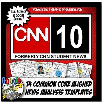 Cnn Student News Worksheet Fresh Cnn Student News Current event Analysis Cnn 10 Mon