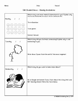 Cnn Student News Worksheet Lovely Cnn Student News Worksheet Cnn10 Weekly Graphic